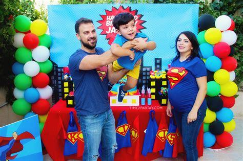 superhero themed birthday timepartaycom