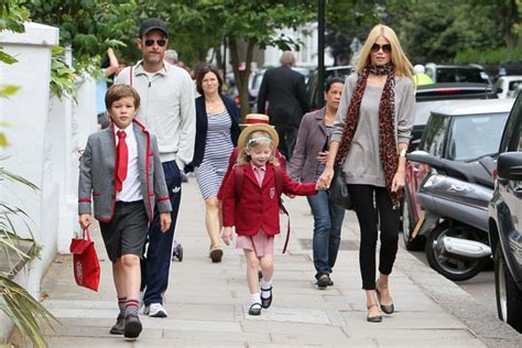 claudia schiffer and family claudia schiffer photos photos claudia schiffer and