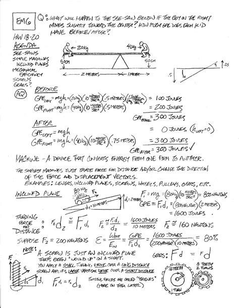 Math Skills Worksheet 19 Mechanical Advantage Answers  Page 375 Acceleration 1 Ma Practice