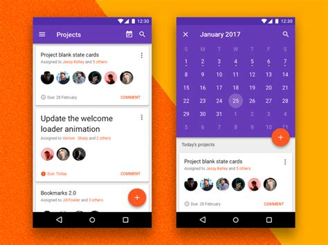 android ui design android nougat free ui kit for sketch freebiesbug