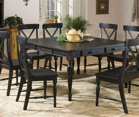 Black Dining Room Table The Perfect Choice — The Decoras. Standard Washer And Dryer Dimensions. Swing Bed With Canopy. Accent Arm Chairs. Mad Men Furniture. Acrylic Coffee Tables. Metal Wall Art. Art Deco Interior Design. Barn Shower Door