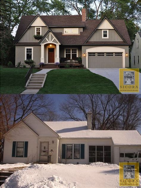 home design before and after exterior molding before and after studio design