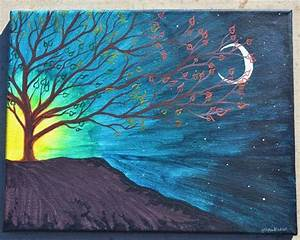 Turning 11x14 acrylic painting on canvas | Acrylics ...