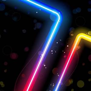 Gorgeous Neon Effects Vector vector Misc free Vector Free