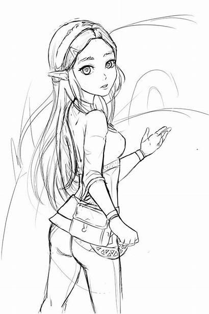 Zelda Breath Wild Fan Princess Amino