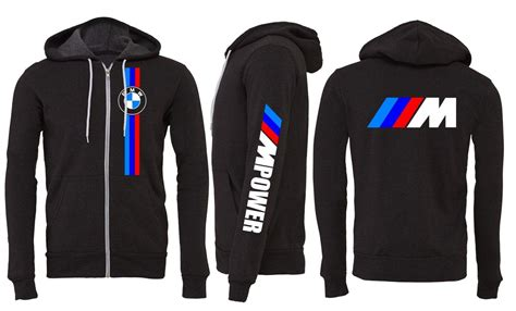 Bmw Zipper Hoodie Bmw M3 M4 M5 Mpower 335 From Evil Eye Llc