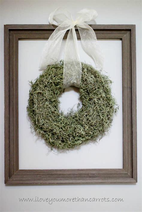 love    carrots spring decor diy loose moss wreath  decorative letter hang
