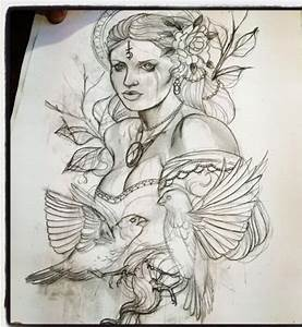 Dessin D Hirondelle Pour Tatouage : le dessin de mon tattoo l ~ Melissatoandfro.com Idées de Décoration