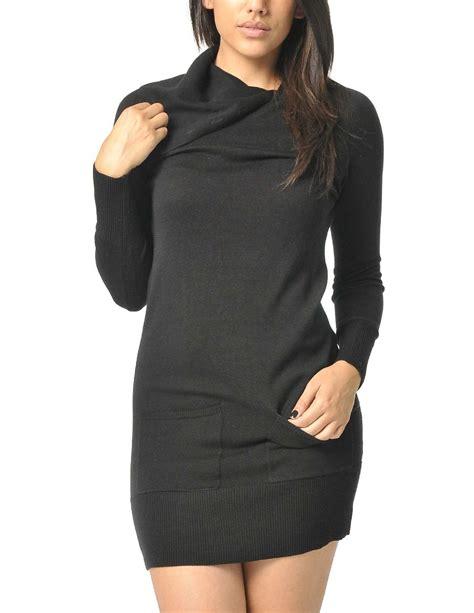 black sweater black sweater dress dressed up