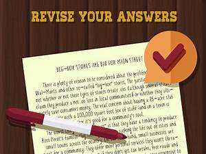 How To Prepare For An Essay Exam  11 Steps  With Pictures