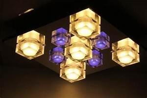 Led Deckenleuchte Rgb : esto design led deckenleuchte deckenlampe onyx rgb inkl fernbedienung ebay ~ Watch28wear.com Haus und Dekorationen