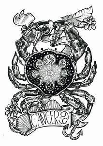 Pin by Bri Nicole on cancer ♋ | Zodiac sign tattoos, Crab ...