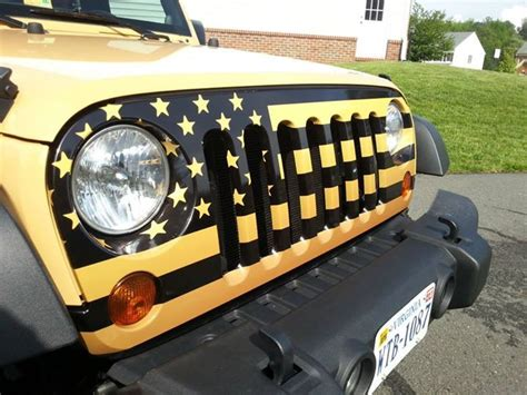 american flag jeep grill american flag wrap for jeep grille http