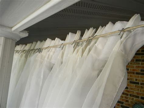hometalk back patio curtains for 10