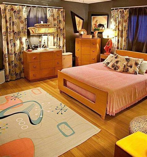 1950s bedroom furniture love the bed frame home mid century bedroom home 10009 | 76ae8470e38aabc01f0db7b09956e57d