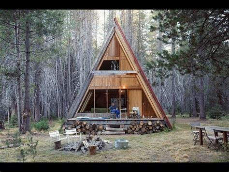 How To Build An Aframe Tiny House Cabin Youtube