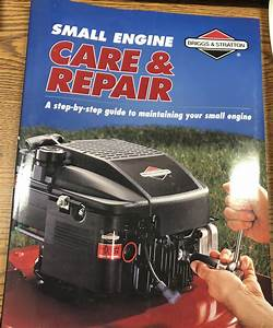 Briggs  U0026 Stratton Small Engine Manual Book Lawn Mower  U2013 Jt