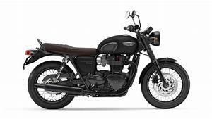Triumph Bonneville T120 Black Abs  Matt Jet Black  2020