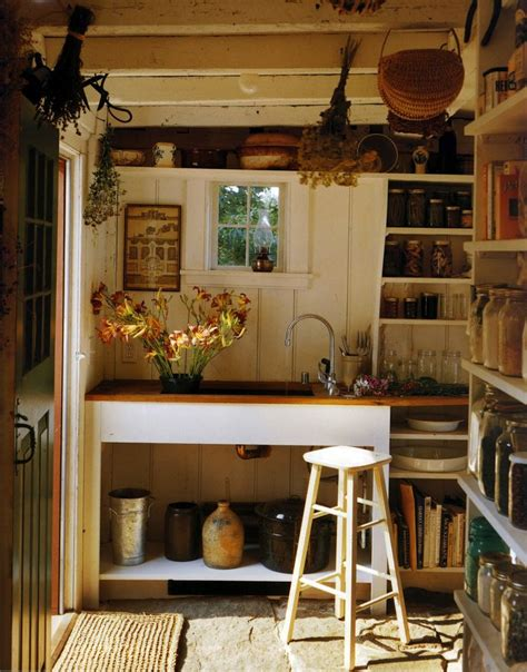 French Rustic Kitchen  Country Living Pinterest