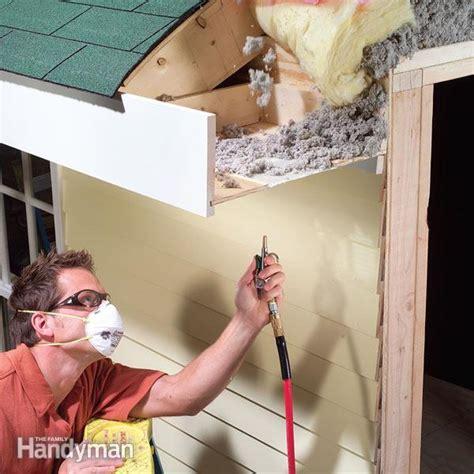 clean soffit vents  family handyman
