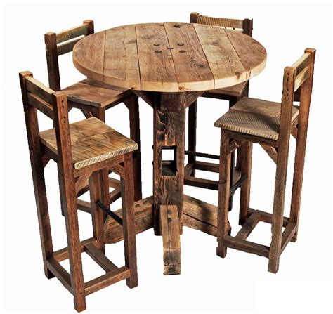 style kitchen table and chairs furniture rustic small high top kitchen table