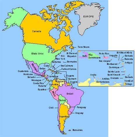Carte Du Monde Continent Americain by La Carte Du Continent Am 233 Ricain M 233 Tissages Huy 11