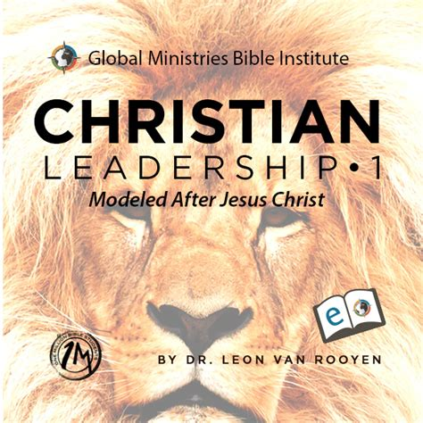 christian leadership  modeled  jesus christ