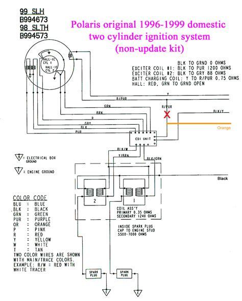Polari Snowmobile Ignition Wiring Diagram by Polaris Sl 700 Pdf