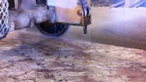 cutting granite with circular saw