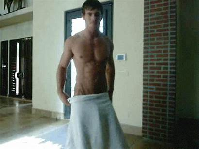 Gifs Male Guys Cock Towel Drop Boy