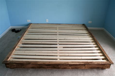 Build A King-sized Platform Bed