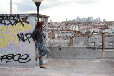 monter sur les toits de blogueuse sur les toits de