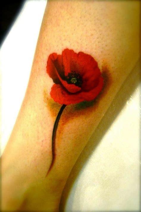 poppy tattoos tattoofanblog