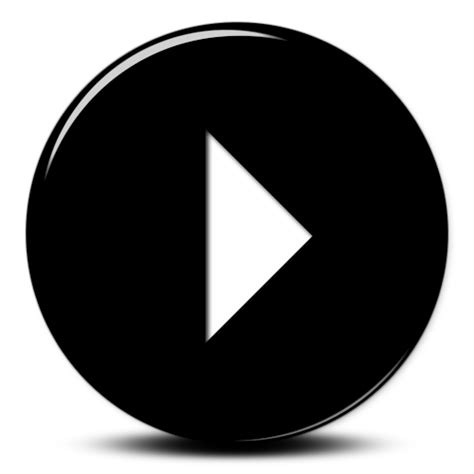 3d play button png black play button wisc oer