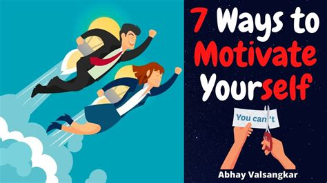 7 Ways to Motivate Yourself   Must Watch   - YouTube