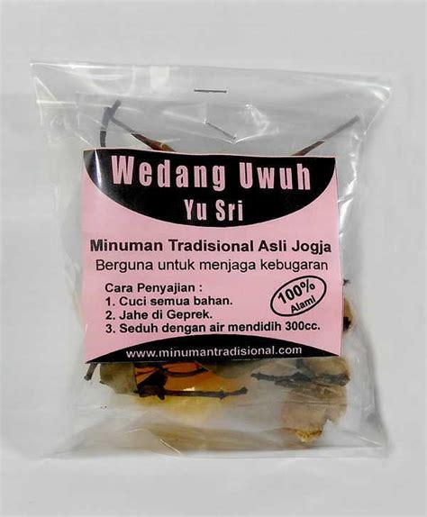 wedang uwuh yu sri minuman tradisional wedang uwuh