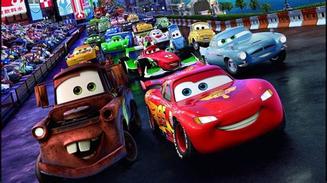 Disney Pixar Cars 2 Racers Collection All Cars Long Video