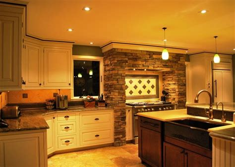 Two Level Kitchen Island In Broad Axe  Transitional