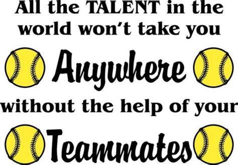 foto de Softball Team Quotes And Sayings QuotesGram