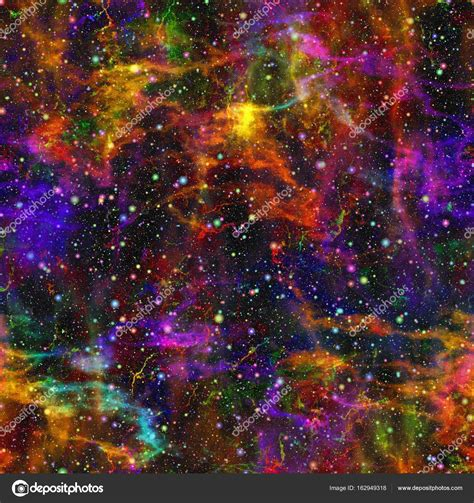 a colorful universe abstract colorful universe nebula starry sky