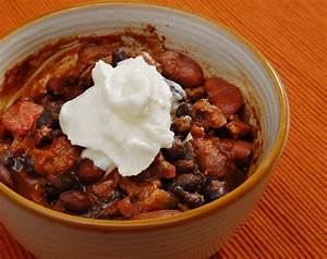 Chili With Smoked Brisket And Venison