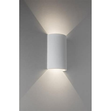 astro lighting serifos 2 light led ceramic wall fitting in white finish lighting type from