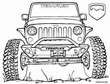 Jeep Coloring Pages Wrangler Lifted Truck Teraflex Trucks Drawing Army Rock Sheet Printable Sketch Jk Ford Jeeps Cool Unlimited Colors sketch template
