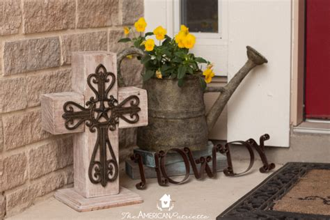 Diy Outdoor Wooden Cross Decor Bathroom Exhaust Fan With Night Light Vanity Lights Ideas Oil Rubbed Bronze Fixtures Lighting In A Kitchen Stainless Steel To Hang Bedroom Flower Fairy For Tampa Landscape