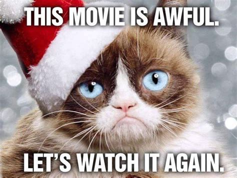 Movie Night Grumpy Cat's Worst Christmas Ever