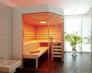 Sauna Für Badezimmer : sauna im badezimmer ~ Watch28wear.com Haus und Dekorationen