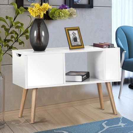 costway modern side table  table  bedroom living