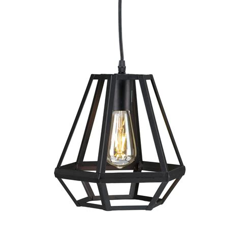 black lantern pendant light harriet 1 light matte black caged lantern pendant l