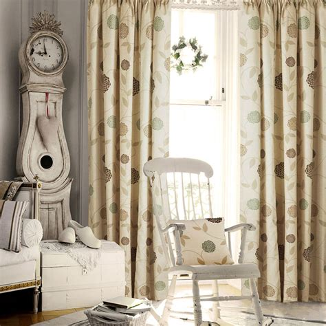Bedroom Curtains Pencil Pleat by Floral Pencil Pleat Curtains Living Room Bedroom Ready