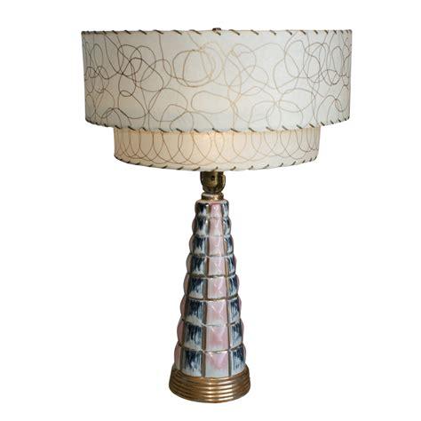 vintage ceramic table ls midcentury retro style modern architectural vintage